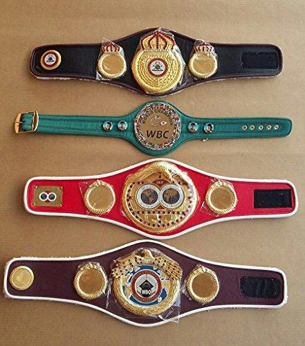 WBC WBA WBO IBF Championships Boxing Belt Replica Mini 4 Belts
