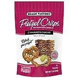 Snack Factory Pretzel Crisps, Cinnamon Sugar, 7.2 Ounce (Pack of 12)