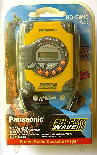 Panasonic RQ-SW10 Shockwave Personal AM/FM Cassette Player
