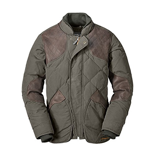 Jackets Alpine Leather (Eddie Bauer Men's 1936 Skyliner Model Hunting Jacket, Alpine Green Regular L)
