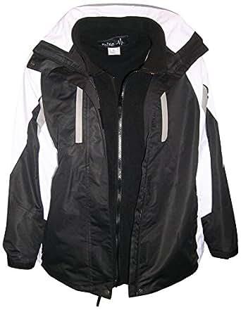 Amazon.com: Pulse Plus Size Women's 3in1 Ski Jacket Coat