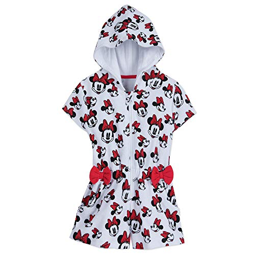 Disney Minnie Mouse Swim Coverup for Girls Size 3 Red]()
