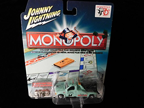 1999 Ford Tow Truck 70th Anniversary Monopoly Reading Railroad Edition with Game token 1:64 scale by Johnny Lightning