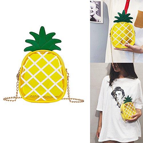 d'embrayage Sac de Kobwa Ananas femme Mode forme en PSxOn0