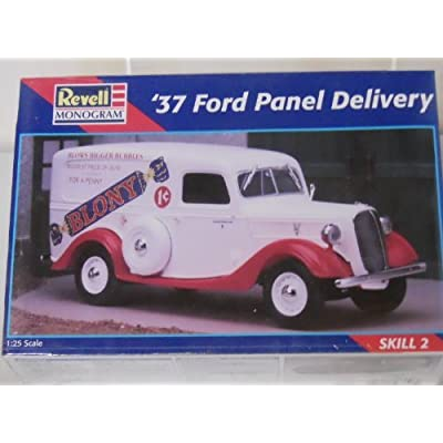 Revell Monogram 37 Ford Panel Delivery 1:25 Scale Model Car Kit: Toys & Games