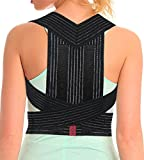 ORTONYX Posture Corrector Back Brace, Clavicle and Shoulders Support, Cool Breathable Materials/M