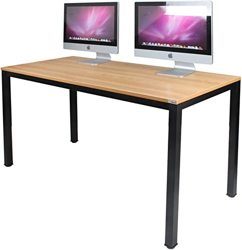 SogesHome 55 inches Computer Desk Office Desk Gaming Desk PC Desk Coner Computer Table Writing Table Workstation