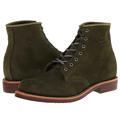Collection Inch Suede Chippewa Men's 6 Boot Utility Original Service Chocolate Moss aggOwZ