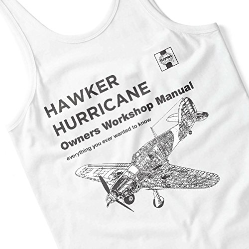 Haynes Owners Workshop Manual Hawker Hurricane VW Women's Vest