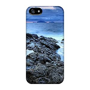 For Iphone 5/5s Protector Case Stone Coast Phone Cover