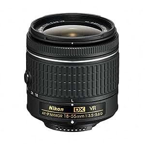Nikon AF-P DX NIKKOR 18-55mm f/3.5-5.6G VR Lens for Nikon DSLR Cameras