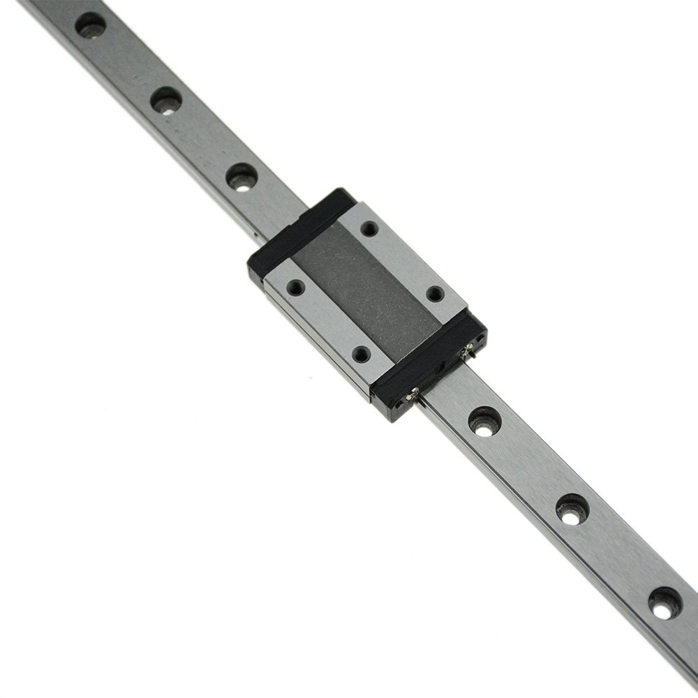 CNC part MR15 15mm linear rail guide MGN15 length 600mm with mini MGN15H linear block carriage miniature linear motion guide way (press the block to slide)