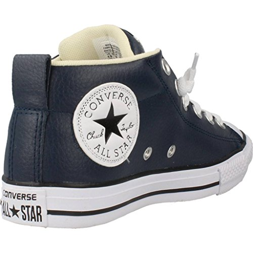 Converse - Zapatilla Converse Street Mid Leather, Navy Navy