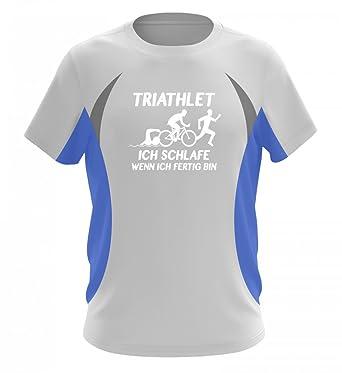 Triathlon Shirt Geschenk Für Triathleten Spruchmotiv