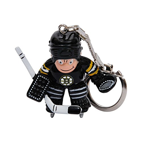 Boston Bruins Keychain - NHL Boston Bruins Goalie Keychain