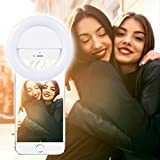 Redlink Selfie Ring Light, 36 Highlight LED Selfie Ring Flash Fill Light Camera Photography for iPhone 7/6S/6/SE/7 PLus/iPad/Samsung/Blackberry/Motorola and Other the Smart Phones