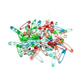 500 PCS Safety Pins Durable, Rust-Resistant Safety