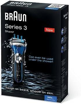 Braun 380s - Contour 380 Series 3 Afeitadora eléctrica: Amazon.es ...