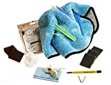 Ultimate Watch Refinishing Kit for All Finishes with Bergeon Refinishing Pen & Cape Cod Polish Cloth