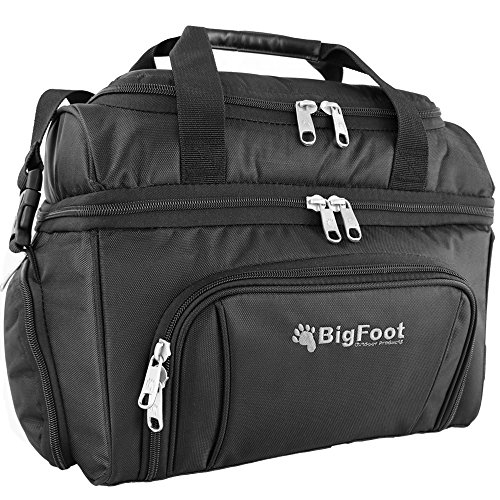 "Bigfoot Outdoor ""Journeyman"" Insulated Cooler Bag – Tough – Built to Last – Great for Construction, Camping, Road Trips, Picnics, Job-Sites, Truckers"
