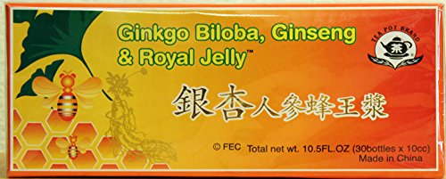 Amazon.com: Ginkgo Biloba, Ginseng & Royal Jelly Dietary Supplement... mtc: Health & Personal Care