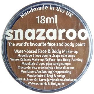 18ML BEIGE BROWN Classic Snazaroo Classic Face Paint - 18 Ml Palette