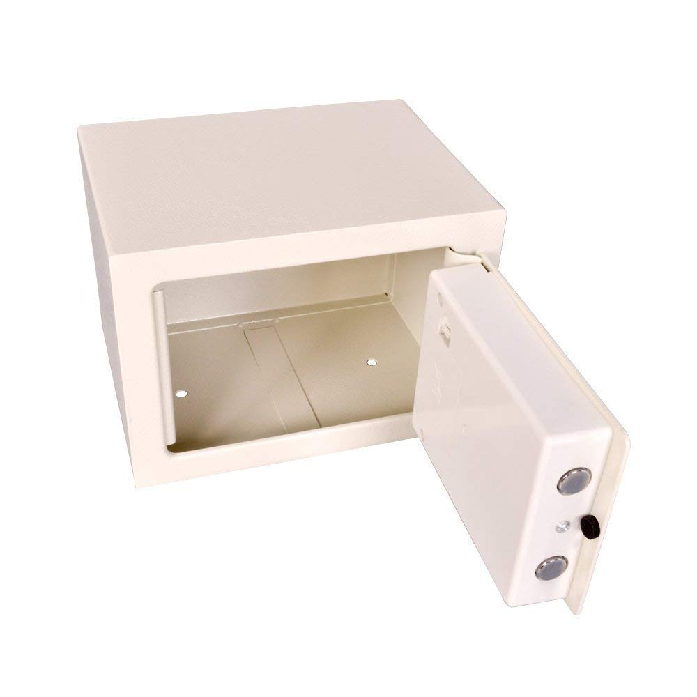 Caja de Seguridad de Acero Digital tama/ño Mini ign/ífuga Home Office Segura e Impermeable