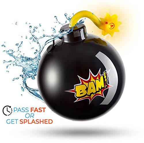 Kids Party Toy Time Ticking Water Bomb Game by Top Race | Battery Powered Musical Chairs Party Water Game Activity Toy (TR-BM2)