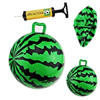 TheRang Gift Idea Children Summer Beach Party Inflatable Watermelon Hopper Ball Toy Gift