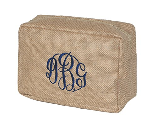 Embroidered Cosmetic Bags - 5
