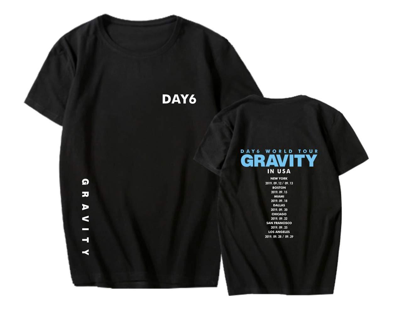 ACEFAST INC DAY6 Gravity Shirt Jae Sung Jin WonPil The Book of Us World Tour Concert Tee Shirt