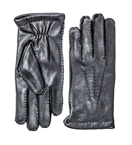 - Hestra Deerskin Classic Wool Gloves, Black, 10