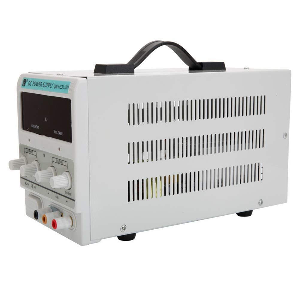 White DC Power Supply DEPFALL US Standard 110V Input QW-MS3010D 30V 10A Adjustable DC Stabilizer Power Supply