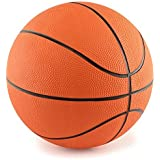 5 Inch Mini Rubber Basketball: 2 Pack of Youth Basketballs For Kids - Perfect Indoor Or Outdoor Junior Basketballs - Great For Mini Basketball Hoops And Pool Basketball Sets - M & M Products Online