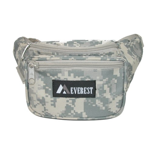 Everest Durable Fabric Waist Packs (Case of 50), Digital Camo by EVEREST