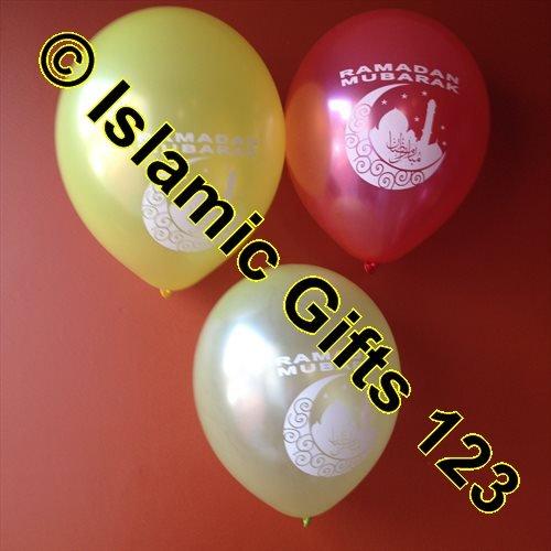 Price comparison product image Ramdan Banners-Ramadan Deco-Islamic Decoration--Islamic Gifts 123-BUY BY Wholesale (Ramdan Ballloons-10CT)