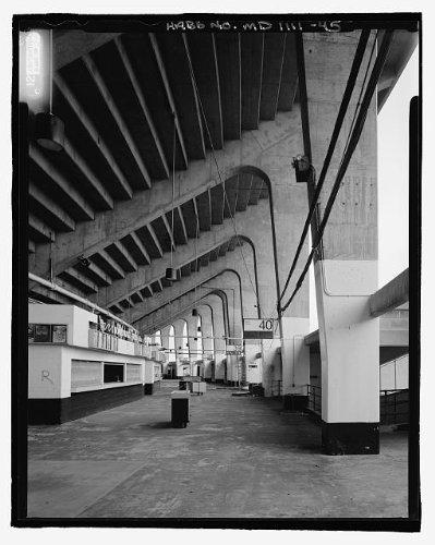 HistoricalFindings Photo: Baltimore Memorial Stadium,1000 East 33rd Street,Baltimore,Maryland,MD,HABS,50