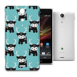 Phone Case For Sony Xperia TX - Rudolph the Red Nosed Reindeer Back Wrap-Around