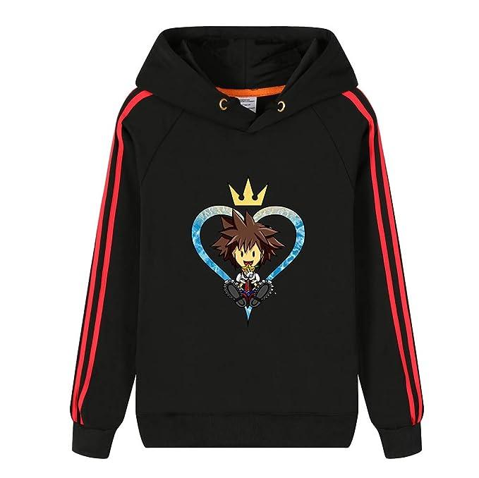 more photos f54fc 44746 Kingdom Hearts Pullover Pullover di Moda in Felpa di Cotone ...