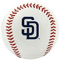 MLB San Diego Padres Equipo Logo Béisbol, Oficial, Blanco