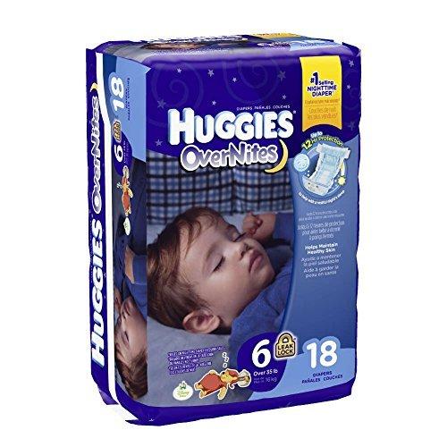 Huggies Overnites Diapers Featuring Sleepy Winnie Pooh, Unisex Size 6, 40685 (Case of 72) by HUGGIES (Image #2)
