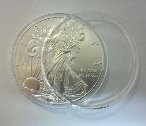 2006 U.S. Silver Eagle in Perfect Fit (2006 Silver American Eagle Coin)