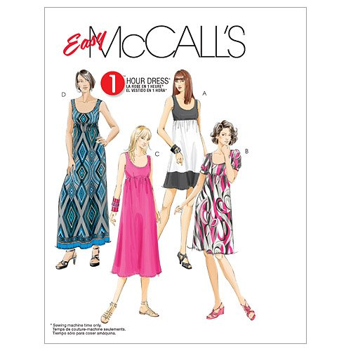 (McCall's Patterns M5893 Misses'/Women's Dresses in 4 Lengths, Size B5 (8-10-12-14-16))