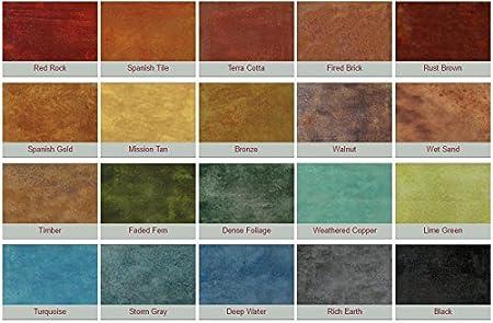 Amazon Stone Essence Concrete Stain Mission Tan Kitchen Dining