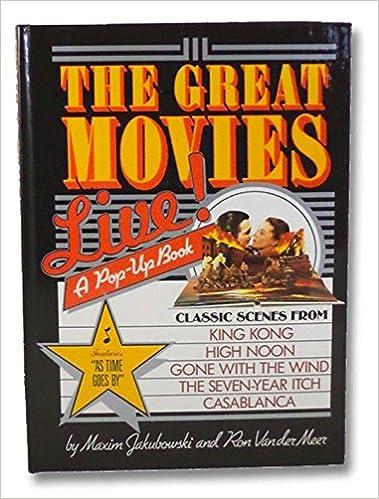The Great Movies: Live (Pop-Up Book): Amazon.es: Jakubowski ...