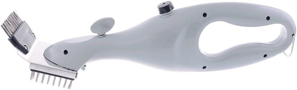 PePeng 45,7/cm dreieckige Reinigungsb/ürste Grill BBQ robuste dreieckige Edelstahl-Reinigungsb/ürste zur einfachen und effektiven Reinigung Edelstahl 1-Branch