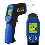 Mxson DM3995 Easy Grip Non-contact Digital Infrared Thermometer Laser Temperature Gun Temperature Deviation Function