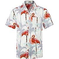 Men's Hawaiian Shirt Short Sleeve Aloha Shirt Beach Party Flower Shirt Holiday Casual Shirts