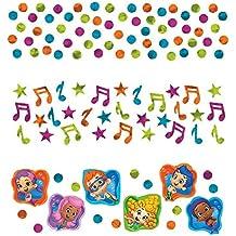 Aqua Awesome Bubble Guppies Party Confetti Mix Decoration, Paper, 1.2 Ounces