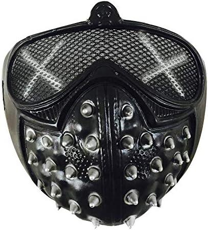 Ruikey ハロウィン パンク・デビルCOSマスク ハロウィン仮面 コスプレマスク 舞踏会 映画マスク仮装  変装グッズ お面